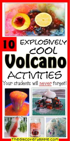 10 Explosively Cool Volcano Activities Your Students will Never Forget - The Discovery Apple