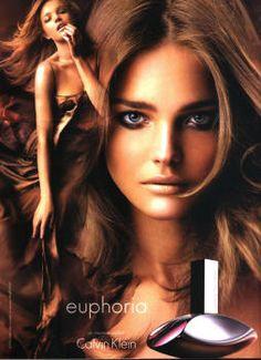 Euphoria by Calvin Klein with Natalia Vodianova (2005).