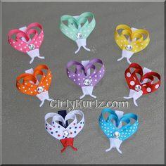 4 de julio la señora LoveBug Clippies mariquita Clip por GirlyKurlz
