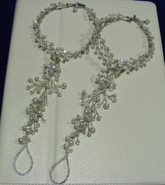 Or we could wear on beach, too! Beach wedding barefoot sandals - made to order