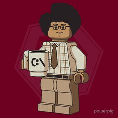 Lego Moss from The IT Crowd.