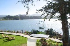 Sunny Morro Bay view from @BackBayInn in Baywood Park California #LosOsos #BaywoodPark @losososbaywood