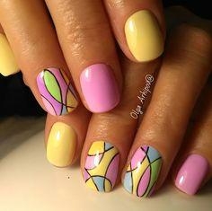 Fingernail Designs, Cute Nail Designs, Quilted Nails, Seasonal Nails, Nails For Kids, Geometric Nail, Chrome Nails, Hot Nails, Stylish Nails