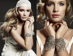 bridal cuffs