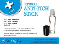 "FIRST AID KIT / ANTI-ITCH STICK- Assemble your first aid kit with Young Living products! Follow me on Pinterest to see all of my recommendations for your Young Living First Aid Kit! I'm part of ""The Oily Page Team"", and have permission to use this graphic. www.wendysoilypage.com"
