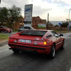 The iconic M1 that @bmwsouthafrica just restored was spotted on the road by @mashine021  #ExoticSpotSA #Zero2Turbo #SouthAfrica #BMW #M1