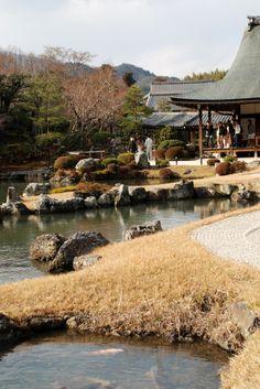 Tenryu-ji, Arashiyama, Kyoto #japan