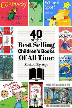 This list contains some of the best childrens books of all time. These classic and award winning kids books deserve to b Top Kids Books, Top Books To Read, Best Children Books, Books For Boys, Childrens Books, Best Books For Toddlers, Best Toddler Books, Read Aloud Books, Kid Books