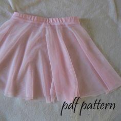Ballet leotard ballet skirt pdf sewing pattern by tumblentwirl