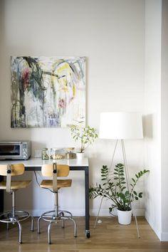 Design Hub - блог о дизайне интерьера и архитектуре: Стильная квартира в Нью-Йорке для молодой пары и маленьких двойняшек