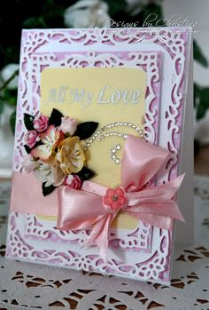 Flowers, Ribbons and Pearls: Tuesday Tutorial - Decorative Labels Eight