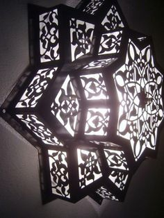 Moroccan Star Flush Mount Ceiling Light Fixture Lamp | eBay