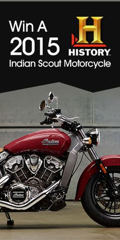 Win A 2015 Indian Scout Motorcycle