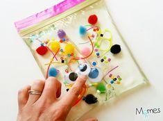 Sensory Activities Toddlers, Educational Activities For Kids, Baby Sensory, Montessori Activities, Creative Activities, Infant Activities, Sensory Play, Infant Sensory, Sensory Bags