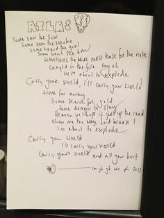 Lyrics to the song Atlas by Coldplay! This song will be featured on the Catching Fire soundtrack and released on August 26th! I'm seriously freaking out right now!!!!