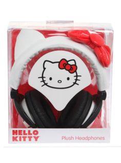 Hello Kitty Vinyl Headphones