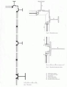 Crown Hall MIes Van Der Rohe Revit Architecture, Architecture Drawings, Architecture Details, Farnsworth House, Seagram Building, Ludwig Mies Van Der Rohe, Architectural Section, Famous Architects, Construction Design