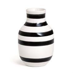 Omaggio Vase klein 12,5cm - schwarz - Kähler