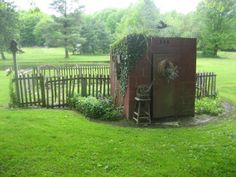 I need to reassemble my old outhouse!