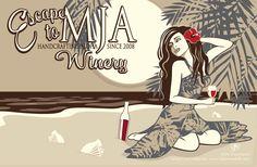 MJA Winery, Tasting Room in Santa Cruz