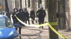 A Bronx man fell to his death from a courtyard fire escape while fleeing from police.