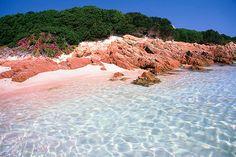 Spiaggia Rosa, isola di Budelli, Sardinia, Italy Source: Flickr