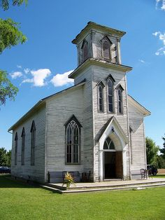 Beautiful old wooden church