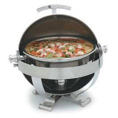 Walco Satellite Round 6Quart Chafer All Stainless Look ** See this great product. (This is an affiliate link) #SpecialtyCookware