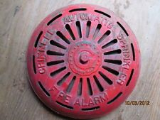 VINTAGE Cast Iron Grinnell Automatic Sprinkler Fire Alarm AS SEEN ON ABANDONED