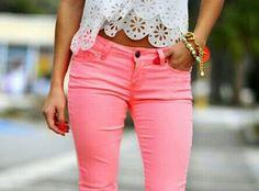 Pink pants :)