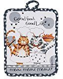 Early Bird Special: Kay Dee Designs R2632 Happy Cat Potholder  List Price: $12.95  Deal Price: $6.49  You Save: $0.13 (2%)  Kay Dee Designs R2632 Potholder  Expires Feb 6 2018
