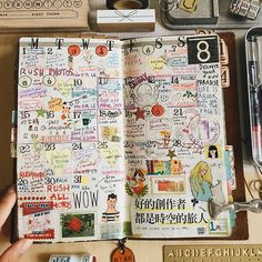 Life is a book, we fill the pages 🔍 #travelersnotebook #travelerfactory…