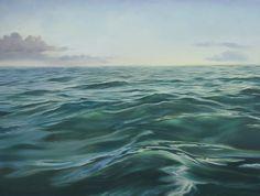 Roads in the Sea. Oil on Canvas. Arturo Samaniego