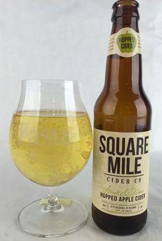 Square Mile Hopped Apple Cider Cider House Rules, Corona Beer, Apple Cider, Beer Bottle, Drinks, Drinking, Beverages, Beer Bottles, Drink