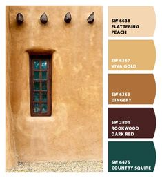 ColorSnap by Sherwin-Williams – ColorSnap by lalaarnett Indoor Paint Colors, Interior Paint Colors, Paint Colors For Home, Western Paint Colors, Tuscan Paint Colors, Southwest Decor, Southwestern Decorating, Tuscan Decorating, Revere Pewter