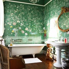 de Gournay Chinoiserie wallpaper