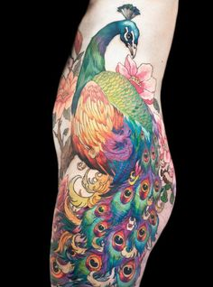 Inspiration and Ideas for Peacock Tattoos