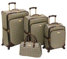 London Fog Luggage Kingsbury Collection 4 Piece Set, Navy/Chocolate Check, One Size London Fog,http://www.amazon.com/dp/B00GJB23W2/ref=cm_sw_r_pi_dp_JoLotb0HAG85T7GG