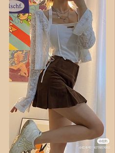 Pretty Outfits, Cool Outfits, Summer Outfits, Casual Outfits, Korean Dress, Korean Outfits, Kpop Fashion Outfits, Looks Style, Swagg