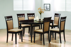Have to have it. Boraam Bloomington Dining Table Set - Black/Cherry ...