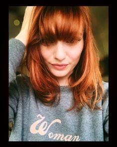 "Eleanor Tomlinson (@eleanortomlinson) on Instagram: ""The girl's got new hair 👩🏻🦰   Thank you to the Wonder Woman that is @katielouisehale89…"" Eleanor Tomlinson, Demelza, Aidan Turner, Poldark, British Actresses, Ginger Hair, New Hair, Redheads, Amy"