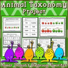 Animal Classification: Vertebrate and Invertebrate Taxonomy project $