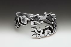 Cherry Blossom Ring | Silver Spoon Jewelry