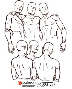 Anatomy Drawing Tutorial kibbitzer is creating Reference sheets, tutorials and Human Figure Drawing, Figure Drawing Reference, Anatomy Reference, Art Reference Poses, Hand Reference, Character Poses, Character Art, Poses References, 3d Drawings