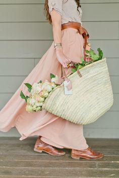 French Market Basket tote love... – Greige Design