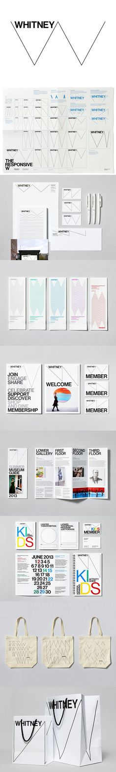 I can't buy fully into the responsive W. New visual #identity for Whitney Museum Design: Wolff Olins