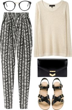 """""""blogger chic"""" by rosiee22 ❤ liked on Polyvore"""