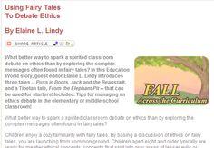 Using Fairytales to Debate Ethics