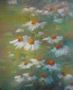 Field of DAISIES Nantucket Wildflowers por KarenMargulisFineArt