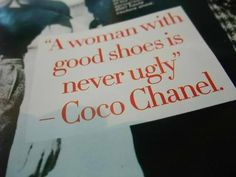 By Coco Chanel